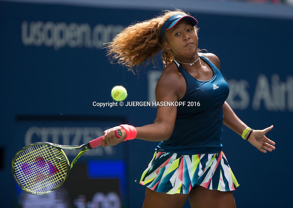 NAOMI OSAKA (JPN)<br /> <br /> Tennis - US Open 2016 - Grand Slam ITF / ATP / WTA -  USTA Billie Jean King National Tennis Center - New York - New York - USA  - 2 September 2016.