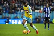 Rotherham United defender Semi Ajayi during the EFL Sky Bet Championship match between Sheffield Wednesday and Rotherham United at Hillsborough, Sheffield, England on 8 December 2018.