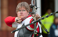 Kateri VRAKKING (CAN), London Archery Classic, part of the LOndon Prepares Olympic Test Events, Lords Cricket Ground London, England, Photo by: Peter Llewellyn