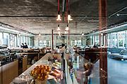 Milan, Talent Garden coworking company. coffee area
