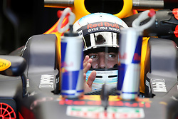 June 23, 2017 - Baku, Azerbaijan - Motorsports: FIA Formula One World Championship 2017, Grand Prix of Europe, ..#3 Daniel Ricciardo (AUS, Red Bull Racing) (Credit Image: © Hoch Zwei via ZUMA Wire)