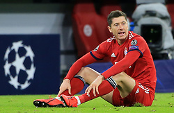 13.03.2019, CL, Champions League, Achtelfinale Rueckspiel, FC Bayern Muenchen vs FC Liverpool, Allianz Arena Muenchen , Fussball, Sport im Bild:..Robert Lewandowski (FCB)..DFL REGULATIONS PROHIBIT ANY USE OF PHOTOGRAPHS AS IMAGE SEQUENCES AND / OR QUASI VIDEO...Copyright: Philippe Ruiz..Tel: 089 745 82 22.Handy: 0177 29 39 408.e-Mail: philippe_ruiz@gmx.de (Credit Image: © Philippe Ruiz/Xinhua via ZUMA Wire)