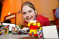 Carolina Kyanite from Scoil Rois Knocknacarra at the Galway Education centre's Junior First Lego League at the Radisson Blu hotel. Photo:Andrew Downes, xposure.