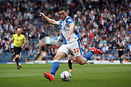 Blackburn Rovers' Craig Conway in action. Skybet football league championship match, Blackburn Rovers v Wigan Athletic at Ewood Park in Blackburn, England on Saturday 3rd May 2014.pic by Chris Stading, Andrew Orchard sports photography.