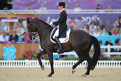 Gal, Edward, Undercover<br /> London - Olympische Spiele 2012<br /> <br /> Dressur Grand Prix de Dressage<br /> © www.sportfotos-lafrentz.de/Stefan Lafrentz