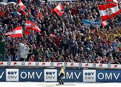 17.03.2012, Planica, Kranjska Gora, SLO, FIS Ski Sprung Weltcup, Team Skifliegen, im Bild Thomas Morgenstern (AUT),   during the FIS Skijumping Worldcup Flying Hill Team, at Planica, Kranjska Gora, Slovenia on 2012/03/17. EXPA © 2012, PhotoCredit: EXPA/ Oskar Hoeher.