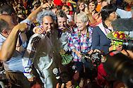 Jacques Ferrari, Nicolas Andreani - Individuals Men Final Vaulting - Alltech FEI World Equestrian Games&trade; 2014 - Normandy, France.<br /> &copy; Hippo Foto Team - Jon Stroud<br /> 05/09/2014