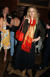 BAY GARNETT at a party hosted by jewellers Adler to celebrate 20 years in London held at 5 Cavendish Square, London on 4th May 2005.<br />