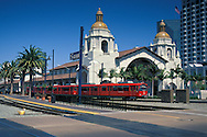 Santa Fe Rail Station+Downtown San Diego, CALIFORNIA
