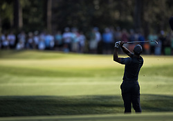 May 11, 2018 - Ponte Vedra Beach, FL, USA - The Players Championship 2018 at TPC Sawgrass..Tiger Woods on 12 fairway hitting to green. (Credit Image: © Bill Frakes via ZUMA Wire)
