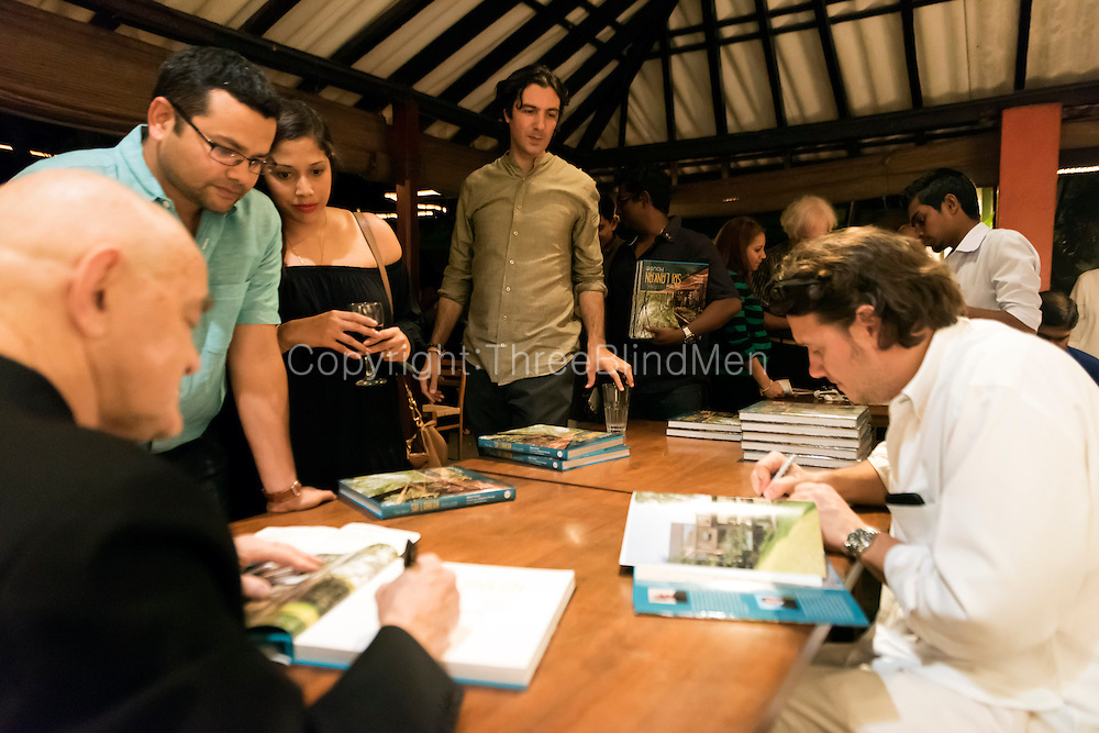 &quot;The New Sri Lanka House&quot; by Robert Powell &amp; David Robson with photographs by Sebastian Posingis.<br /> Book launch at the BAREFOOT GALLERY on the19th of February 2015.