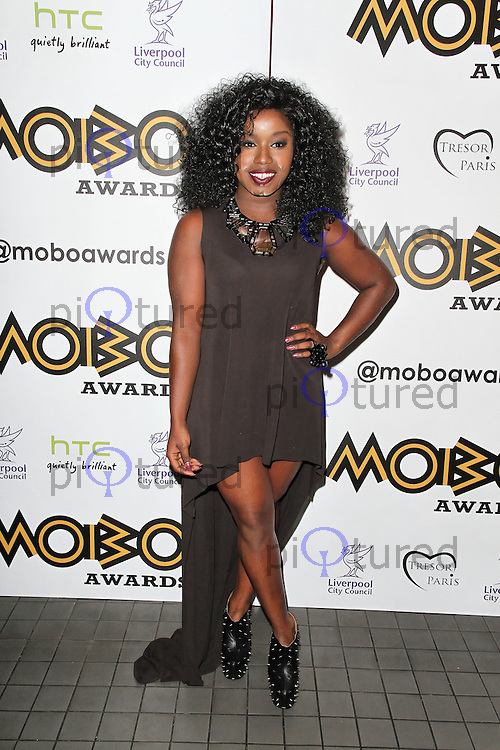 LONDON - SEPTEMBER 17: Misha B attended the Nominations Launch of the MOBO Awards at Floridita London, UK. September 17, 2012. (Photo by Richard Goldschmidt)