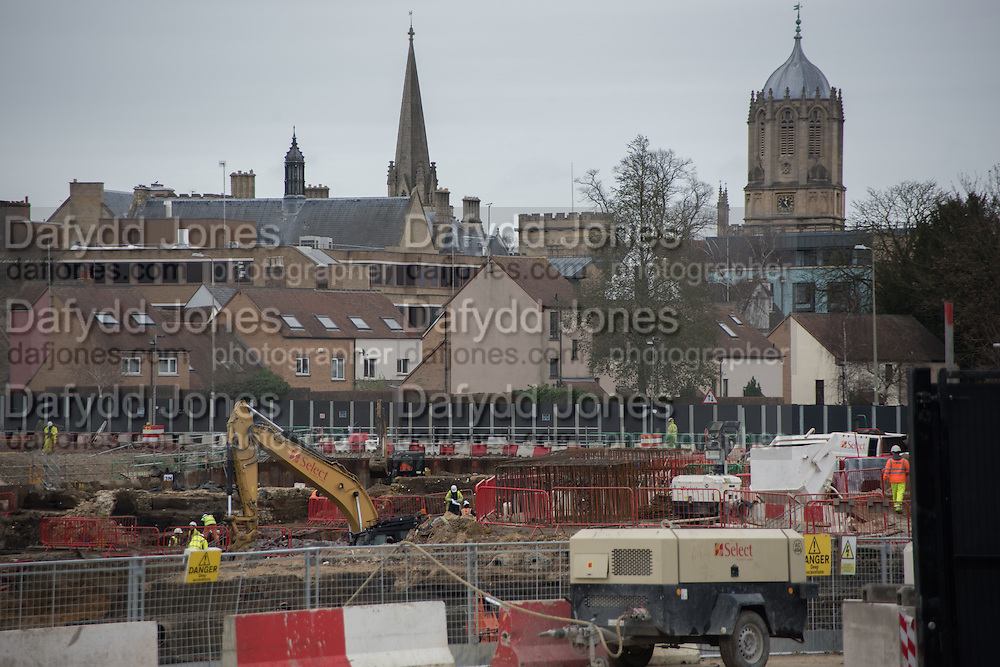 Building development, Westgate, Oxford, 10 December 2015
