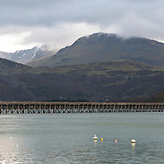 Railway Bridge, Barmouth, Wales