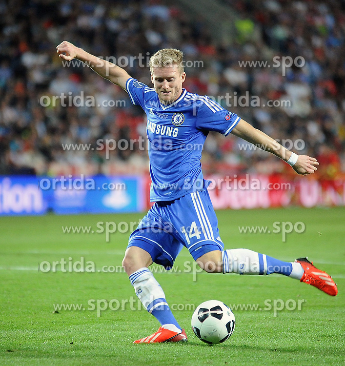 30.08.2013, Eden Stadion, Prag, CZE, UEFA Europa League, FC Bayern Muenchen vs FC Chelsea, im Bild ANDRE SCHURRLE // during UEFA Europa League match between FC Bayern Muenchen and FC Chelsea at the Eden Stadium, Prag, Czech Republic on 2013/08/30. EXPA Pictures &copy; 2013, PhotoCredit: EXPA/ Newspix/ Lukasz Laskowski<br /> <br /> ***** ATTENTION - for AUT, SLO, CRO, SRB, BIH, TUR, SUI and SWE only *****