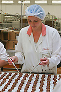 Women on the production line at Thorntons Somercotes factory, Alfreton Derbyshire.