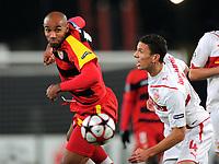 Fotball<br /> Tyskland<br /> Foto: Witters/Digitalsport<br /> NORWAY ONLY<br /> <br /> 20.10.2009<br /> <br /> v.l.  Frederic Kanoute, Khalid Boulahrouz VfB<br /> Champions League VfB Stuttgart - FC Sevilla