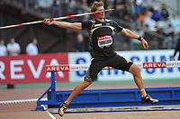 ATHLETICS - AREVA MEETING 2010 - STADE DE FRANCE / ST DENIS (FRA) - 16/07/2010 - PHOTO : STEPHANE KEMPINAIRE / DPPI <br /> JAVELIN - MEN- WINNER - ANDREAS THORKILDSEN (NOR)