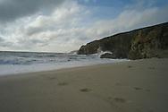 Praia do Rostro, Costa da Morte, Galicia.<br /> Photo @ Antonio Nodar/Imagenes Libres