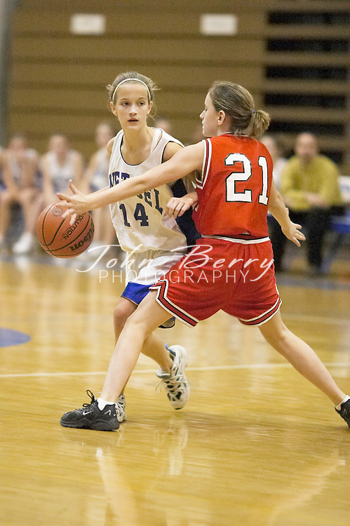 8th Grade Girls Basketball..Second Period..vs North Fork..December 2, 2004