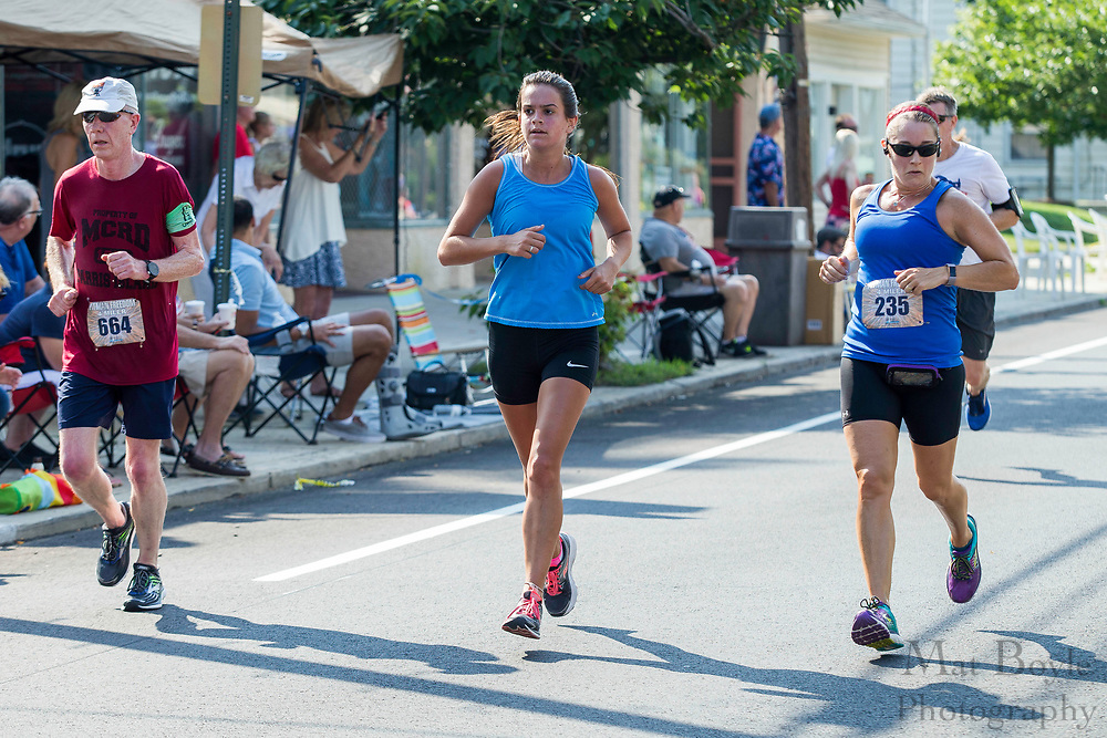 Pitman Freedom Four Miler in Pitman, NJ on Tuesday July 4, 2017. (photo / Mat Boyle)