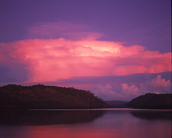 A magnificent stormy sky at the western end of Talbot Bay in the Buccaneer Archipelago.