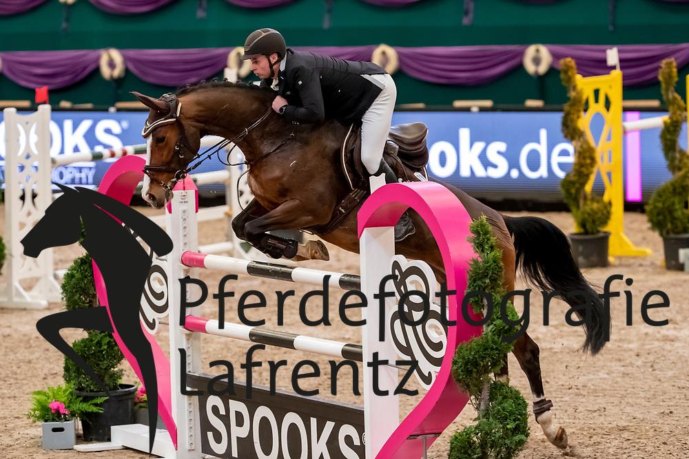 HANISCH Andre (GER), Conesse H<br /> Leipzig - Partner Pferd 2019<br /> SPOOKS-Amateur Trophy<br /> Large Tour<br /> 17. Januar 2019<br /> © www.sportfotos-lafrentz.de/Stefan Lafrentz