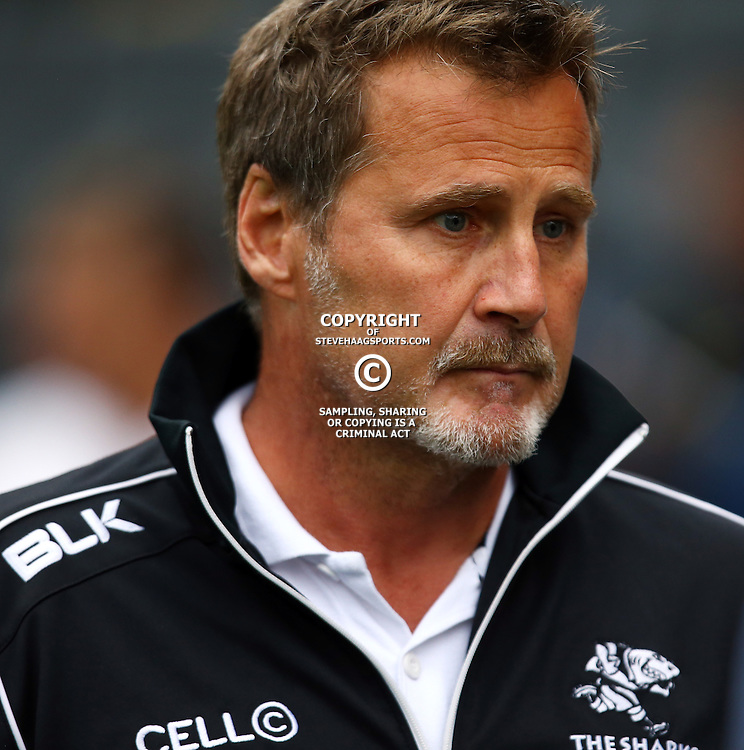 DURBAN, SOUTH AFRICA - SEPTEMBER 10: Robert du Preez (Head Coach) of the Cell C Sharks during the Currie Cup U21 match between the Sharks and Free State at Growthpoint Kings Park on September 10, 2016 in Durban, South Africa. (Photo by Steve Haag/Gallo Images)