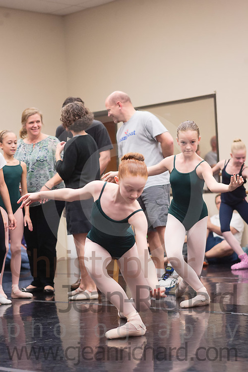 Students of the Payne Academy of Performing Arts in the final Studio Rehearsal of The Nutcracker.<br /> <br /> Payne Academy of Performing Arts.The Woodlands, Texas