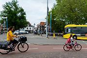 Fietsers in Utrecht.