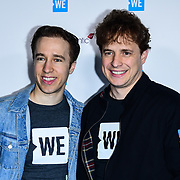 Marc Keilburger, Craig Keilburger Arrives at 2020 WE Day UK at Wembley Arena, London, Uk 4 March 2020.