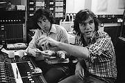 Ralph McTell and Bert Jansch collaborate in a London studio 1974