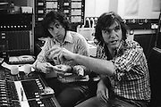 Ralph McTell and Bert Jansch collaborate in a London studio 1974