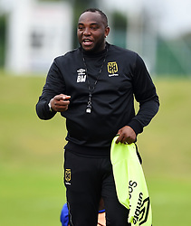 Cape Town-180801-Cape Town City Coach Bennie McCarthy at training session at Hartleyvale Stadium, ahead of their opening game of the 2018/2019 PSL season against Supersport United at Cape Town Stadium on saturday.Photograph:Phando Jikelo/African News Agency/ANA