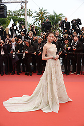 May 18, 2019 - Cannes, France - CANNES, FRANCE - MAY 18: Guan Xiaotong attends the screening of ''Les Plus Belles Annees D'Une Vie'' during the 72nd annual Cannes Film Festival on May 18, 2019 in Cannes, France. (Credit Image: © Frederick InjimbertZUMA Wire)