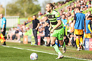 Forest Green Rovers Joseph Mills(23) runs forward during the EFL Sky Bet League 2 match between Forest Green Rovers and Cambridge United at the New Lawn, Forest Green, United Kingdom on 22 April 2019.