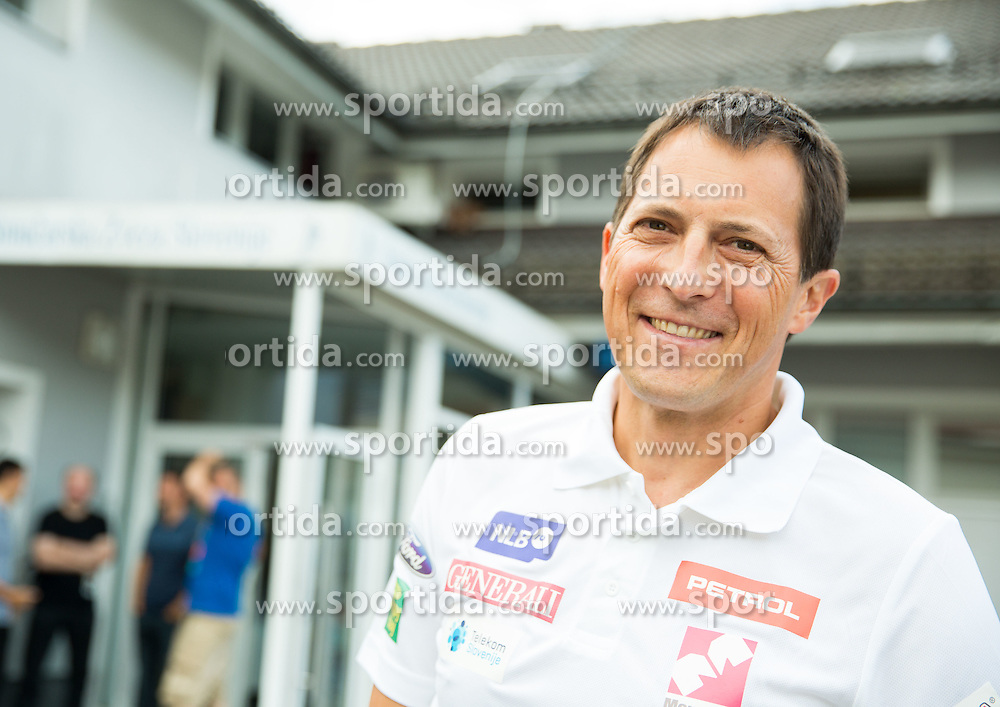 Coach Rasto Aznoh at departure of Slovenian Women Ski Team to training camp in Argentina on August 5, 2014 in SZS, Ljubljana, Slovenia. Photo by Vid Ponikvar / Sportida.com