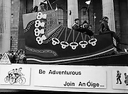 "St Patrick's Day Parade.1982.17/03/1982.03.17.1982.""An Oige"". Irish youth Hostels  urge us to take part in the great outdoors."