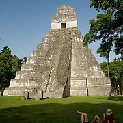 Tikal, an urban center of pre-Columbian Mayan culture, flourished under a vast Mayan Empire from 200 – 900 AD.  As many as 120,000 people once lived here and in the surrounding area.  Tikal, Guatemala, July 2009.  (Photo/William Byrne Drumm)