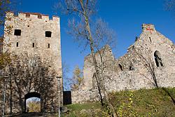 Old Sigulda Castle ruins, Sigulda, Latvia