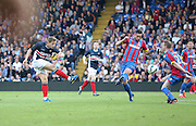 Peter Ramage blocks Greg Stewart shot - Crystal Palace v Dundee - Julian Speroni testimonial match at Selhurst Park<br /> <br />  - © David Young - www.davidyoungphoto.co.uk - email: davidyoungphoto@gmail.com