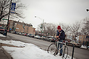 Street Photography in the Logan Square neighborhood of Chicago.