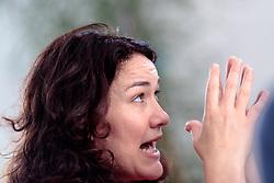 THEMENBILD - Interview mit Grünen-Bundessprecherin und Tirols LHStv. Ingrid Felipe, im Landhaus in Innsbruck am 5. Juli. 2017 // Interview with Leader of the Austrian Greens Ingrid Felipe. Innsbruck, Austria on 2017/07/05. EXPA Pictures © 2017, PhotoCredit: EXPA/ Johann Groder