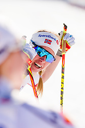 March 16, 2018 - Falun, SVERIGE - 180316 Silje ¯yre Slind, Norge deppar efter finalen i sprint under Svenska Skidspelen den 16 mars 2018 i Falun  (Credit Image: © Simon HastegRd/Bildbyran via ZUMA Press)
