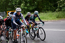 Lizzy Banks (GBR) on the categorised climb at Stage 4 of 2019 OVO Women's Tour, a 158.9 km road race from Warwick to Burton Dassett, United Kingdom on June 13, 2019. Photo by Sean Robinson/velofocus.com