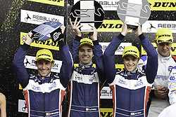 October 22, 2017 - Portimao, PORTUGAL - 32 UNITED AUTOSPORTS (USA) LIGIER JSP217 GIBSON LMP2 WILLIAM OWEN (USA) HUGO SADELEER (CHE) FILIPE ALBUQUERQUE (PRT) SECOND PLACE OVERALL (Credit Image: © Panoramic via ZUMA Press)