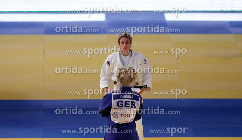 23.04.2010, Ferry Dusika Stadion, Wien, AUT, Judo European Championships, Claudia Ahrens (GER) vs Vlora Bedzeti (SLO), during Judo European Championships 2010, EXPA Pictures 2010, Photographer EXPA/S.Trimmel / SPORTIDA PHOTO AGENCY