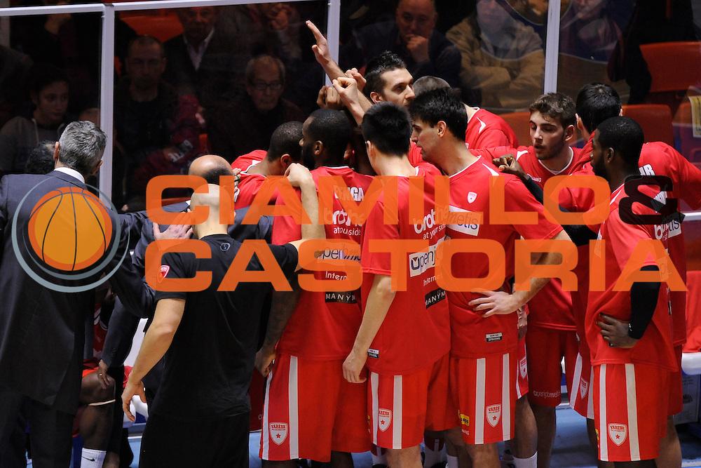 Openjobmetis Varese<br /> Enel Brindisi, Openjobmetis Varese<br /> Lega Basket Serie A 2016/2017<br /> Brindisi, 26/02//2017<br /> Foto Ciamillo-Castoria