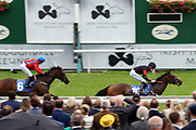 PHILIPINE COBRA (10) ridden by Luke Morris and trained by Phil McEntee winning The British EBF Premier Fillies Handicap Stakes over 6f (£30,000)  during the Midsummer Raceday held at York Racecourse, York, United Kingdom on 14 June 2019.