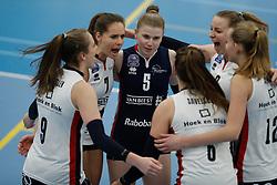 20190131 NED: Semi Final Cup Sliedrecht Sport - Eurosped, Sliedrecht <br />Esther van Berkel (7) of Sliedrecht Sport , Florien Reesink (5) of Sliedrecht Sport <br />©2019-FotoHoogendoorn.nl / Pim Waslander